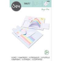 Sizzix - Thinlits Dies - Rainbow Slider Card