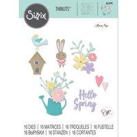 Sizzix - Thinlits Dies - Hello Spring