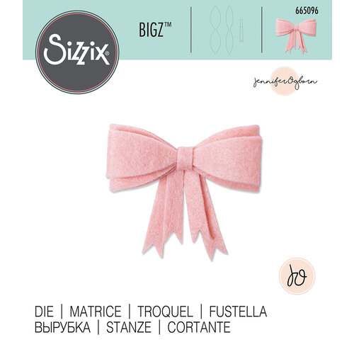 Sizzix - Bigz Die - 3D Bow