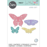 Sizzix - Thinlits Dies - Flutter On By