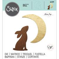 Sizzix - Bigz Die - Rabbit and Moon