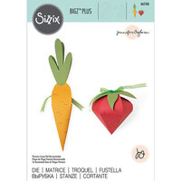 Sizzix - Bigz Plus Die - Box Carrot and Strawberry