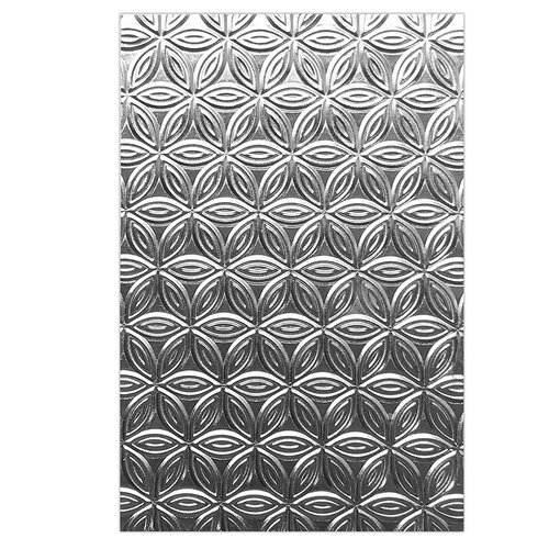 Sizzix - 3D Textured Impressions - Embossing Folders - Pinwheel