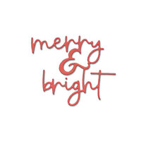 Sizzix - Thinlits Die - Merry and Bright 2