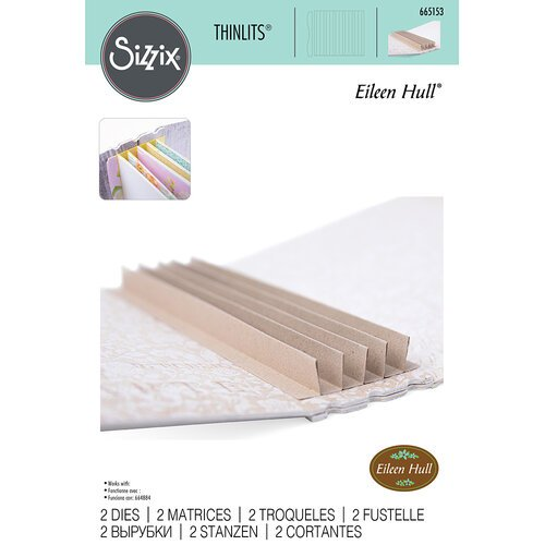 Sizzix - Thinlits Die - Bookbinding and Label
