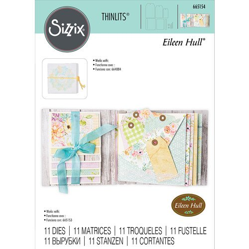 Sizzix - Thinlits Die - Waterfall Card and Tags