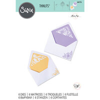 Sizzix - Thinlits Dies - Delicate Envelope Liners