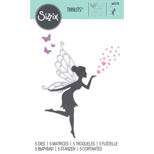 Sizzix - Thinlits Dies - Fairy Wishes