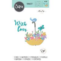 Sizzix - Thinlits Dies - Flowers in Umbrella
