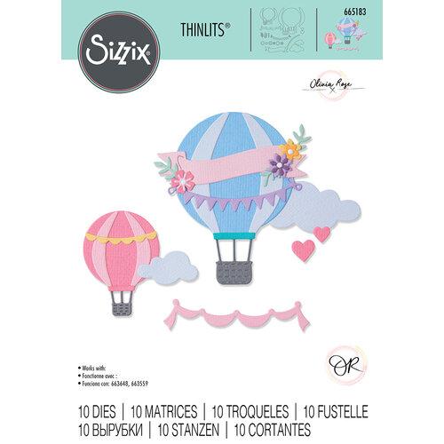 Sizzix - Thinlits Dies - Hot Air Balloon