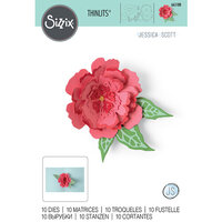 Sizzix - Thinlits Dies - Pop-Up Flowers