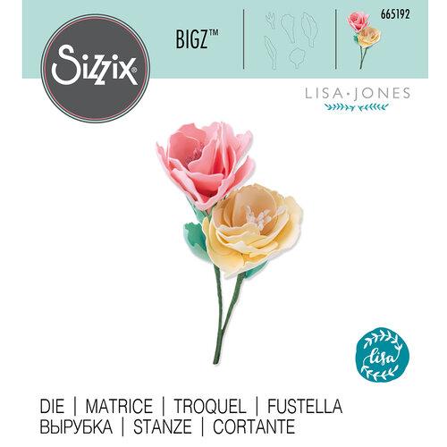 Sizzix - Bigz Die - 3D Wildflowers