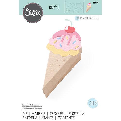 Sizzix - Bigz L Die - Box Ice Cream