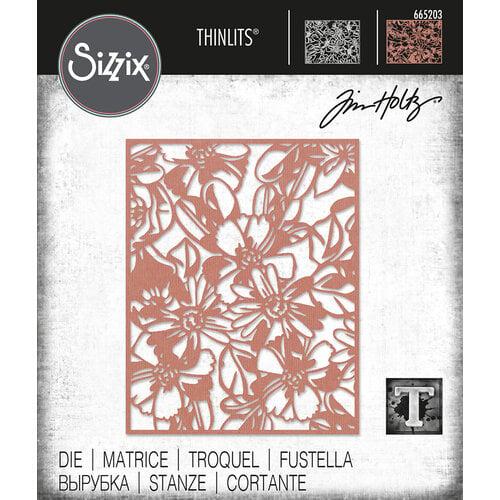 Sizzix - Tim Holtz - Thinlits Dies - Flowery