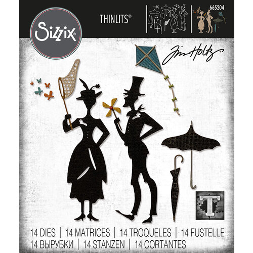 Sizzix - Tim Holtz - Thinlits Dies - The Park