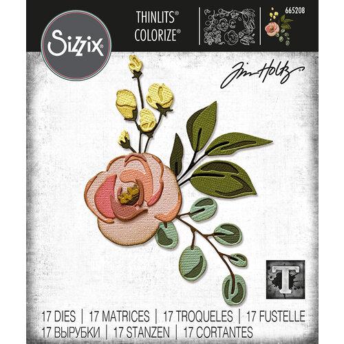 Sizzix - Tim Holtz - Thinlits Dies - Bloom Colorize