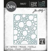 Sizzix - Tim Holtz - Thinlits Dies - Bubbling
