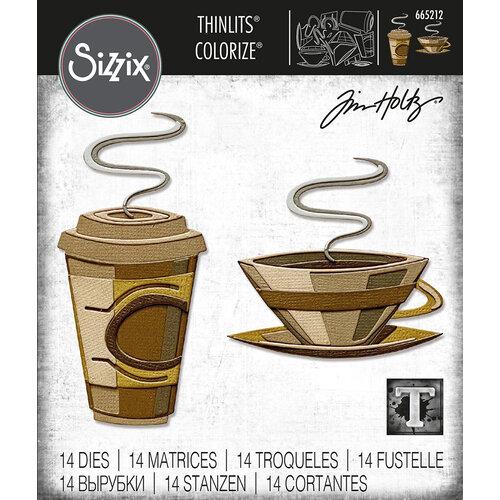 Sizzix - Tim Holtz - Thinlits Dies - Cafe Colorize
