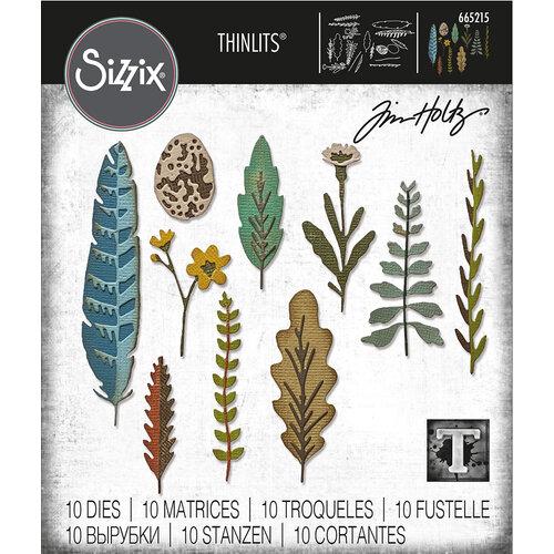 Sizzix - Tim Holtz - Thinlits Dies - Funky Nature