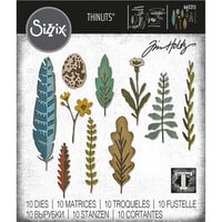 Sizzix - Tim Holtz - Thinlits Dies - Funky Nature