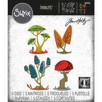 Sizzix - Tim Holtz - Thinlits Dies - Funky Toadstools