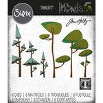 Sizzix - Tim Holtz - Thinlits Dies - Funky Trees