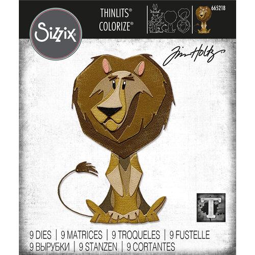 Sizzix - Tim Holtz - Thinlits Dies - Harrison Colorize