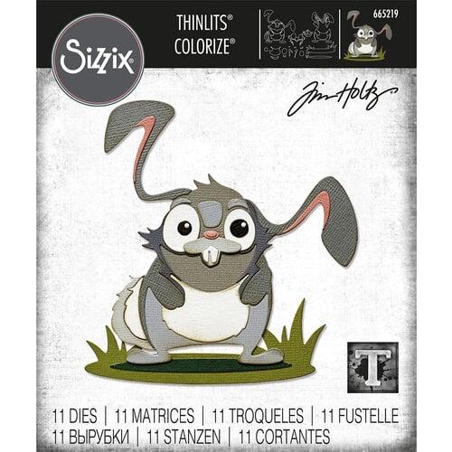 Sizzix - Tim Holtz - Thinlits Dies - Oliver Colorize