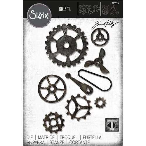 Sizzix - Tim Holtz - Bigz L Die - Mechanical