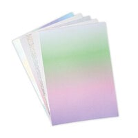 Sizzix - Mystical Collection - Surfacez - 8.25 x 11.75 Opulent Cardstock - 50 Pack - Iridescent