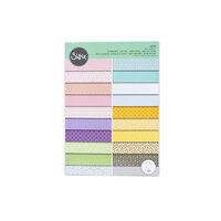 Sizzix - Surfacez Collection - 8.25 x 11.75 Printed Paper Pad - 20 Color Story - 80 Sheets