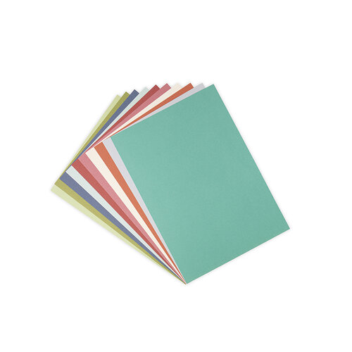 Sizzix - Surfacez Collection - 8.25 x 11.75 - Textured Cardstock - 60 Pack - Botanical