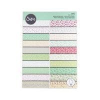 Sizzix - Surfacez - 8 x 11.5 - Patterned Paper - 60 Pack - Botanical