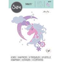 Sizzix - Mystical Collection - Thinlits Dies - Midnight Unicorn