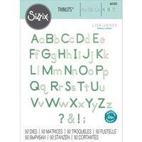 Sizzix - Thinlits Dies - Essential Type