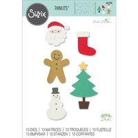 Sizzix - Thinlits Dies - Basic Christmas Shapes