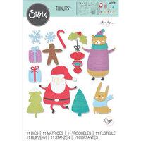 Sizzix - Thinlits Dies - Doodle Christmas