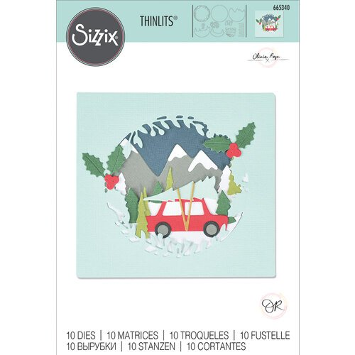 Sizzix - Thinlits Dies - Winter Woodland