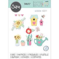 Sizzix - Thinlits Dies - Floral Garden