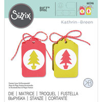 Sizzix - Bigz Die - Gift Tag Box