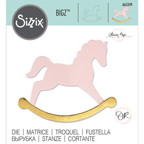 Sizzix - Bigz Die - Rocking Horse
