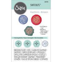 Sizzix - Switchlits - Embossing Folder - Seasonal Seals