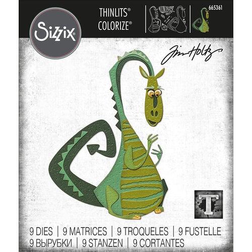 Sizzix - Tim Holtz - Thinlits Die - Rupert Colorize