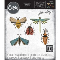 Sizzix - Tim Holtz - Thinlits Die - Funky Insects