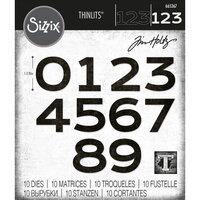Sizzix - Tim Holtz - Thinlits Die - Countdown