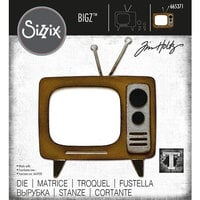 Sizzix - Tim Holtz - Bigz Die - Retro TV