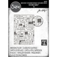 Sizzix - Tim Holtz - Textured Impressions Embossing Folder - Circuit