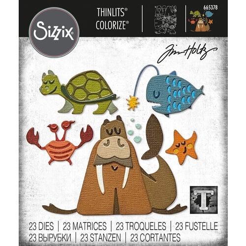 Sizzix - Tim Holtz - Thinlits Die - Under the Sea No. 2 Colorize