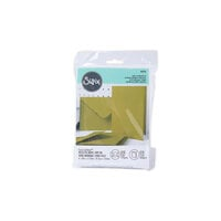 Sizzix - Surfacez Collection - A6 - Card and Envelope Pack - 10 Pack - Mistletoe