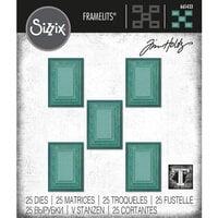 Sizzix - Tim Holtz - Framelits Dies - Stacked Rectangle Tiles